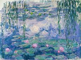 claude monet painting water lilies by claude monet