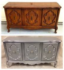 refurbishing furniture ideas. Redo Furniture Sure Looks Better. Silver Stand For Bedroom Refurbishing Ideas E
