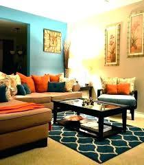 orange decor for living room orange and teal living room teal living room decor burnt orange