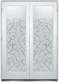 glass door texture. Banana Leaves Door Pinstripe Glass Texture