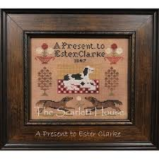 A Present to Ester Clarke Pattern – Hobby House Needleworks