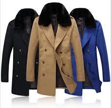 2018 fall fashion men trench coat faux fur turn down collar double ted long sleeve pattern men long trench coat f102 from burtom 77 13 dhgate com