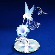 glass hummingbird figurines glass baron hummingbird figurines
