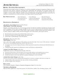 Trending Hotel Manager Resume Samples Hotel Management Resume Format