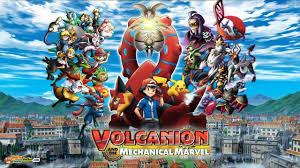 Pokemon Movie 19: Volcanion And The Mechanical Marvel English Download FHD
