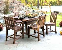 outdoor wood dining furniture outdoor wood patio furniture outdoor wood patio table rustic charm c coast outdoor wood dining furniture