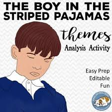 the boy in the striped pajamas themes textual analysis activity tpt the boy in the striped pajamas themes textual analysis activity