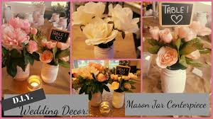 Decorating With Mason Jars For Baby Shower DIY WeddingBridal ShowerBaby Shower Centerpiece Distressed 65