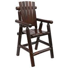 retro style furniture. Songsen Log Bar Stools Wood Outdoor Chair With Arm Retro Style  Furniture Retro Style Furniture