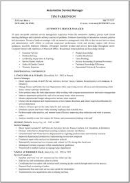 Auto Mechanic Resume Examples Sample For Mechanical Pdf Mechanic