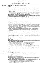 Site Reliability Engineering Resume Samples Velvet Jobs