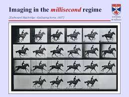 femtosecond chemistry. 2 imaging in the millisecond regime [eadweard muybridge \u2013galloping horse, 1887] femtosecond chemistry i