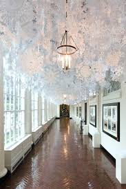 unique indoor lighting. Hanging Indoor Lights Unique Ceiling Decorations Ideas On Inside The White House Created By Lighting S