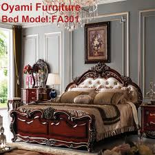 Modern Baroque Bedroom Wood Carving Bedroom Furniture Wood Carving Bedroom Furniture