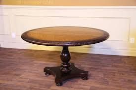blonde pine and antiqued with factory distress finish distressed and antiqued pine and sable round table