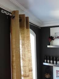 Decorations Burlap Window Treatments For Cute Interior Home Burlap Window Blinds