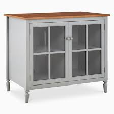 tv cabinet with glass doors amazing isabella tall glass door tv stand gray