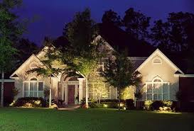 Exterior home lighting ideas House Is It Helps Extend Your Lighting To The Yard And Lets You Enjoy The Outside For As Long As You Want Landscape Lighting Also Provides Exterior Home Taqwaco Exterior Landscaping Lighting Design For Front Yard Home