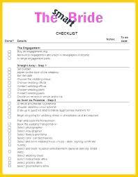 Wedding Checklist Template Excel