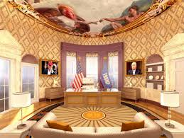 the white house oval office. A Rendering Of Donald Trump\u0027s Re-imagined Oval Office. The White House Office