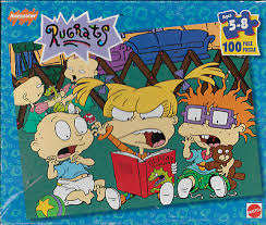 nickelodeon rugrats 100 piece 13 x 15 jigsaw picture puzzle mattel 1997