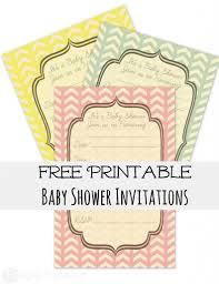 Free Baby Shower Invitations Printable Free Baby Shower Invites Frugal Fanatic