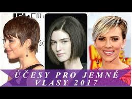 účesy Pro Jemné Vlasy 2017