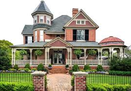 Victorian homes are traditionally painted in exuberant color schemes. A Complete Guide To Victorian Home Styles Features Plans