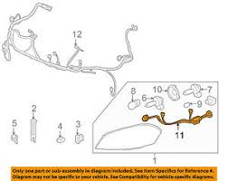 details about 2006 2016 chevy impala headlight wiring harness new gm 25842432