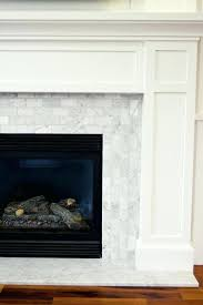 carrara marble tile fireplace y drect runnng bd white carrara marble tile fireplace s subway