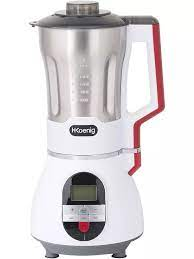 H. Koenig MXC36 Soup Maker / Blender, Ice Crusher, Chef and Mix 1.7 Liter  Stainless Steel Case, 900 W|Food Mixers