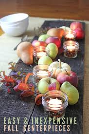 Cheap easy fall decorating ideas Diy Easy And Inexpensive Fall Centerpieces These Simple And Beautiful Centerpiece Ideas Require Minimal Frugal Living Nw Easy And Inexpensive Fall Centerpiece Ideas Frugal Living Nw