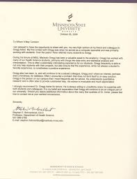 Letter Of Recommendation For Tenure From Student Cover Letter For