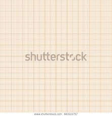 Vector Orange Metric Graph Paper Seamless Stock Vector