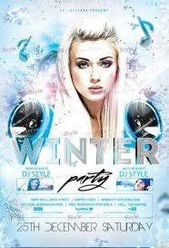 Free Winter Flyer Psd Templates Download - Styleflyers
