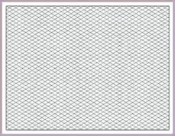 Isometric Graph Paper Landscape Pdf Printable Full Page Grnwav Co