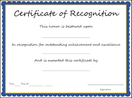 Recognition Awards Certificates Template 28 Images Of Award Template Recognition Leseriail Com
