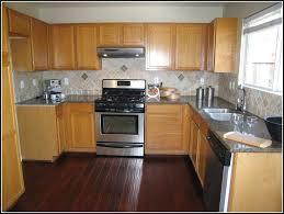 dark oak kitchen cabinets. Kitchen Dark Cabinets And Wood Floors | Maple With , Oak