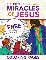 Healings Of Jesus Coloring Pages Free Download