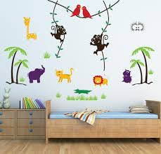 kids wall stickers decals by wall