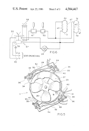 patent us4584467 forced hot air heating cabinet for self patent drawing