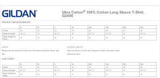 Gildan Adult 6 0 Ounce Ultra Cotton Long Sleeve T Shirt
