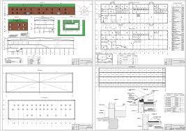 Курсовые и дипломные проекты общественное здание скачать dwg  Курсовой проект Автовокзал на 500 пассажиров 60 х 17 м в г