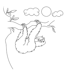 Browse free animal coloring pages & color the picture of your favorite animal. Top 10 Sloth Coloring Pages For Your Toddler
