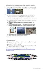 Causes and effects of Global Warming worksheet - Free ESL ...