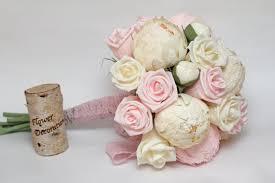 Paper Flower Bouquet Etsy Wedding Bouquet Paper Flower Bouquet Bridesmaids Bouquets Bridal Bouquets Wedding Flowers Paper Flowers