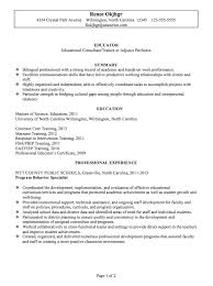 chronological resume sample educator p1 new teacher resume template