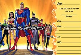 superheroes birthday party invitations superhero birthday invitations printable free invitations ideas
