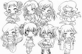 Small Picture Disney Princess Coloring Pages Anime Chibi Girl Coloring Coloring