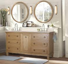light wood furniture style bathroom vanity